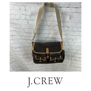 J. Crew Nylon Crossbody Messenger Bag